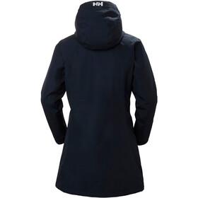 Helly Hansen Long Belfast Winter Jacket Women, azul